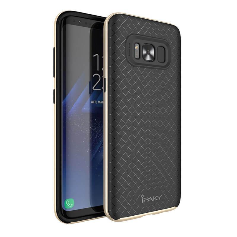 IPAKY BUMBLEBEE obal Samsung Galaxy S8 Plus zlatý