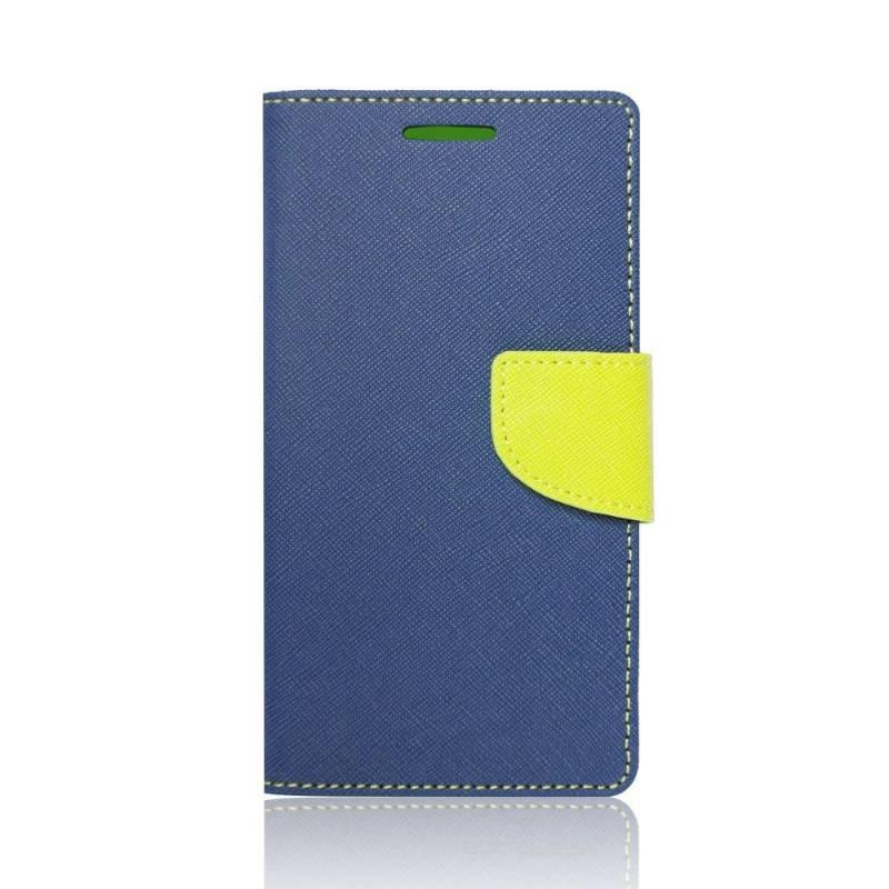 FANCY Peňaženkový obal HTC One A9s modrý