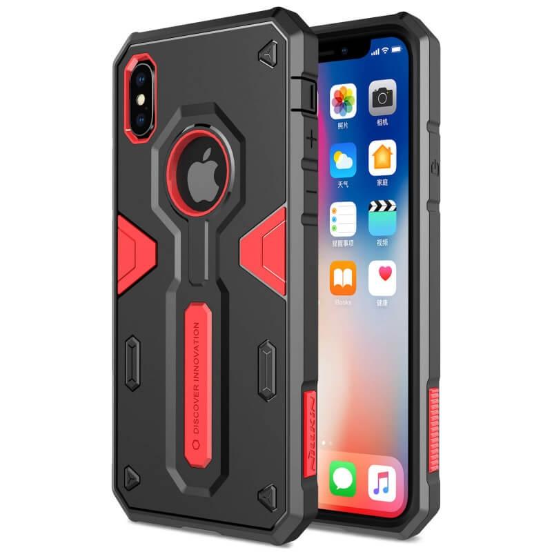 NILLKIN DEFENDER II Kryt pre Apple iPhone X červený