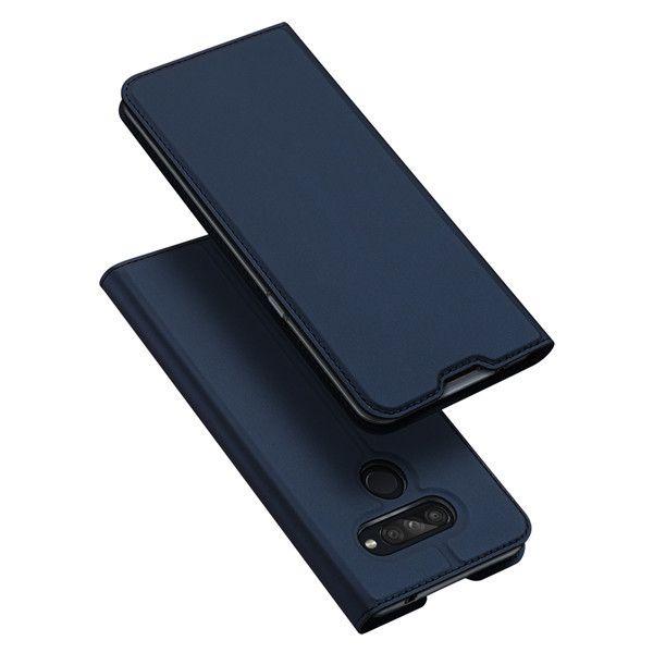 DUX Peňaženkový obal LG K50s modrý