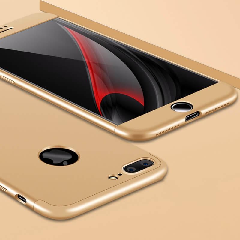 FORCELL 360° Ochranný obal Apple iPhone 7 Plus zlatý 0afa2e02385