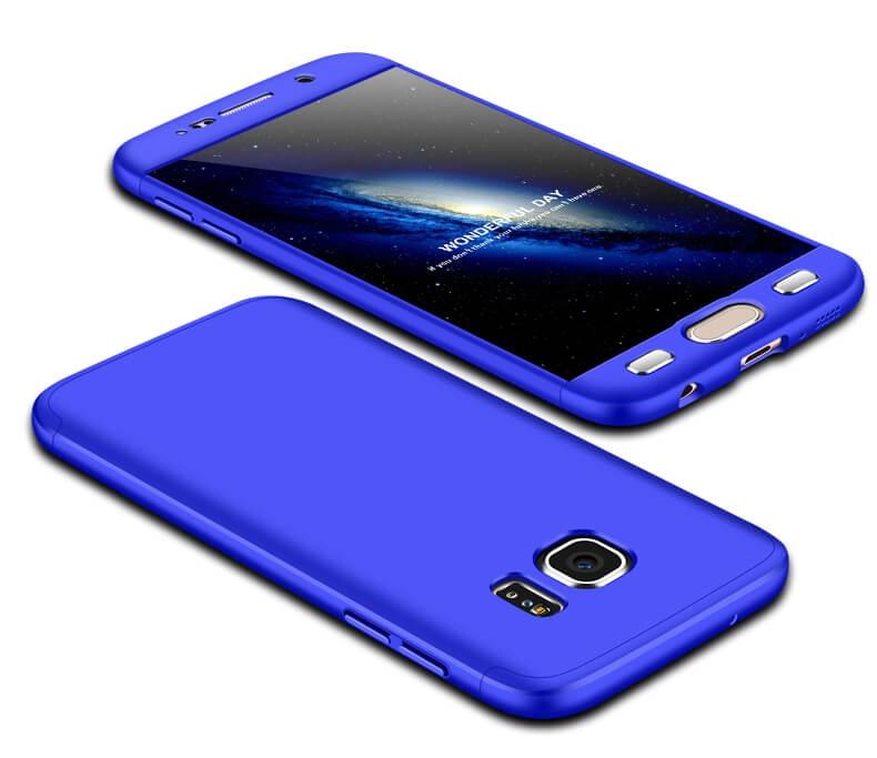 FORCELL 360° Ochranný obal Samsung Galaxy S7 modrý