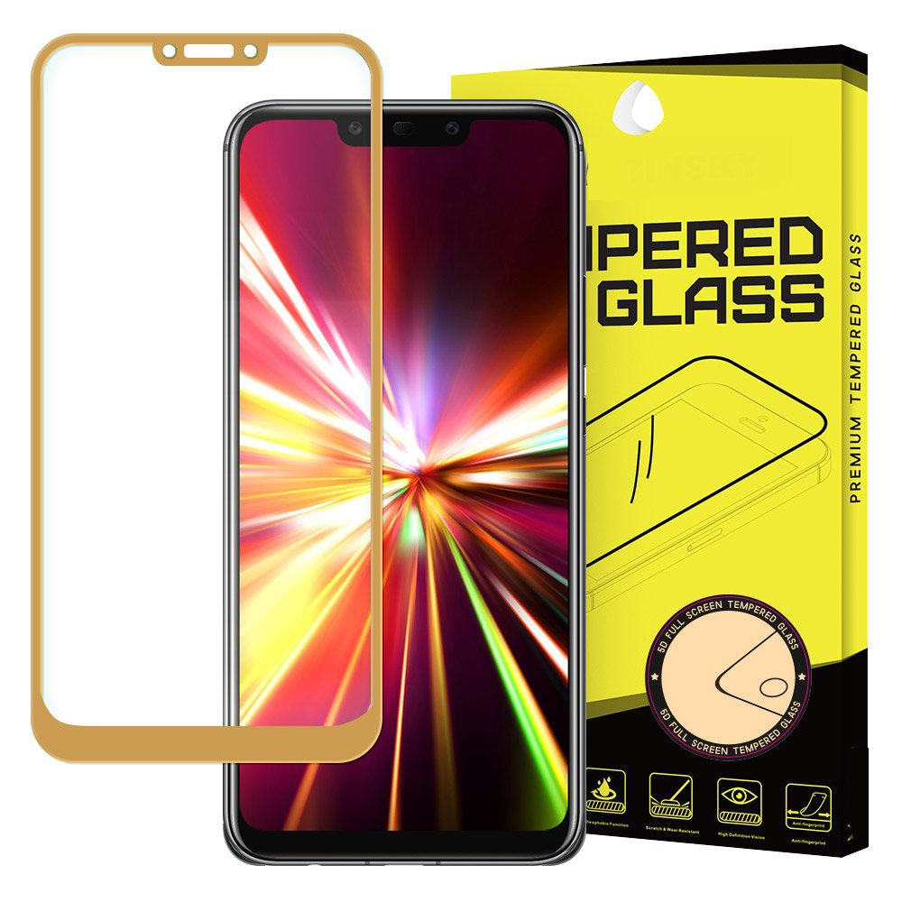 FORCELL 3D Tvrdené sklo Huawei Mate 20 Lite zlaté