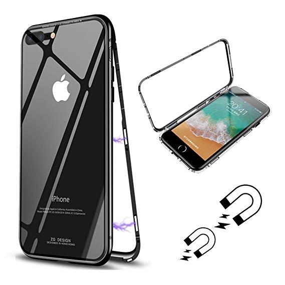 FORCELL MAGNETO Ochranný magnetický obal Apple iPhone 7 Plus / iPhone 8 Plus čierny
