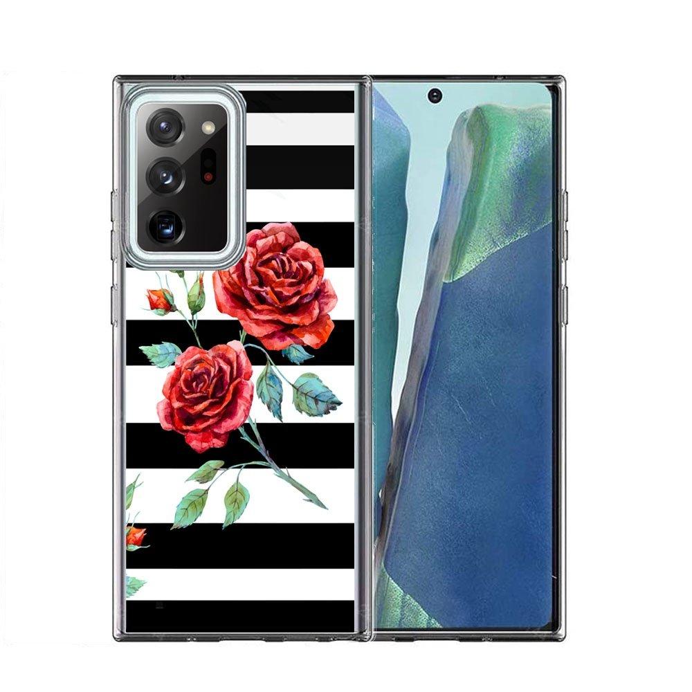 FORCELL MY ART Ochranný kryt Samsung Galaxy Note 20 BLACK AND WHITE (034)