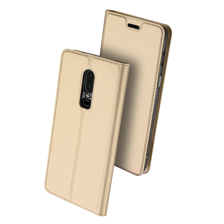 DUX Flipové púzdro OnePlus 6 zlaté