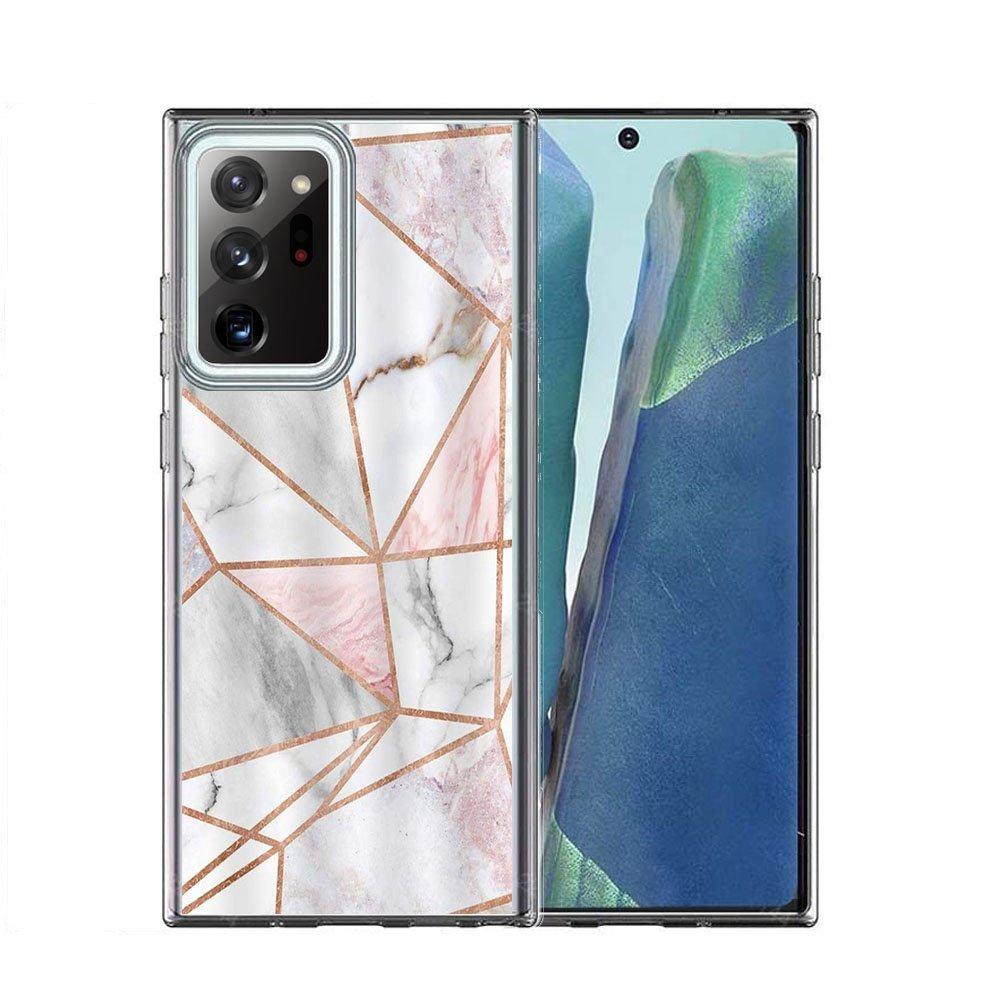 FORCELL MY ART Ochranný kryt Samsung Galaxy Note 20 Ultra PINK MARBLE (036)