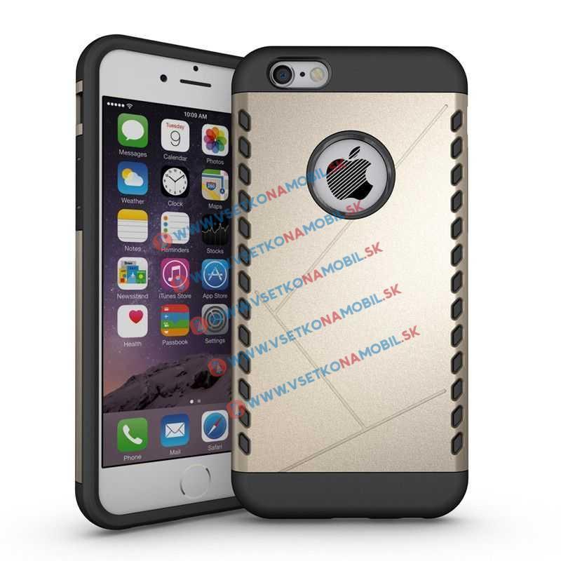 FORCELL Odolný kryt pre telefón Apple iPhone 6 / 6S zlatý