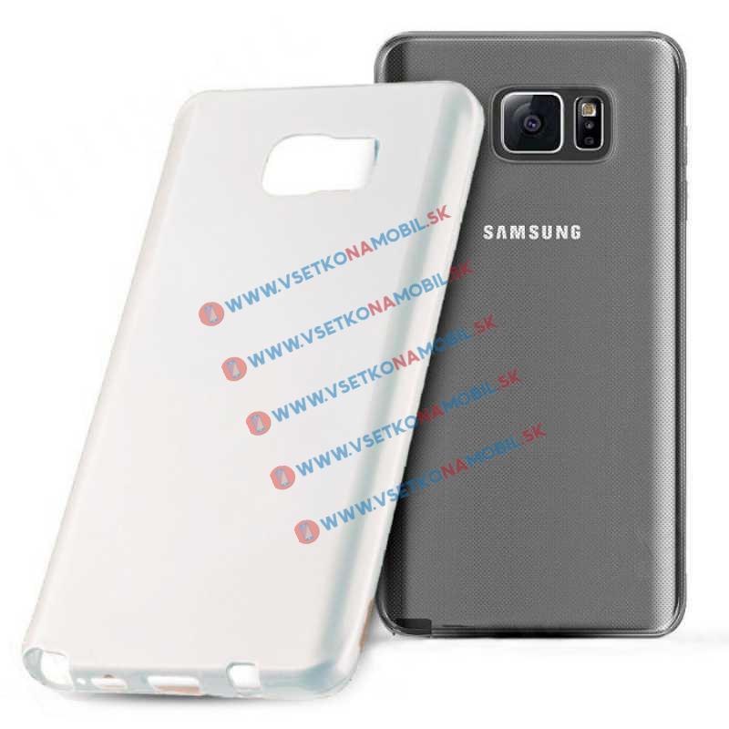 FORCELL Silikónový obal Samsung Galaxy Note 5 biely JELLY