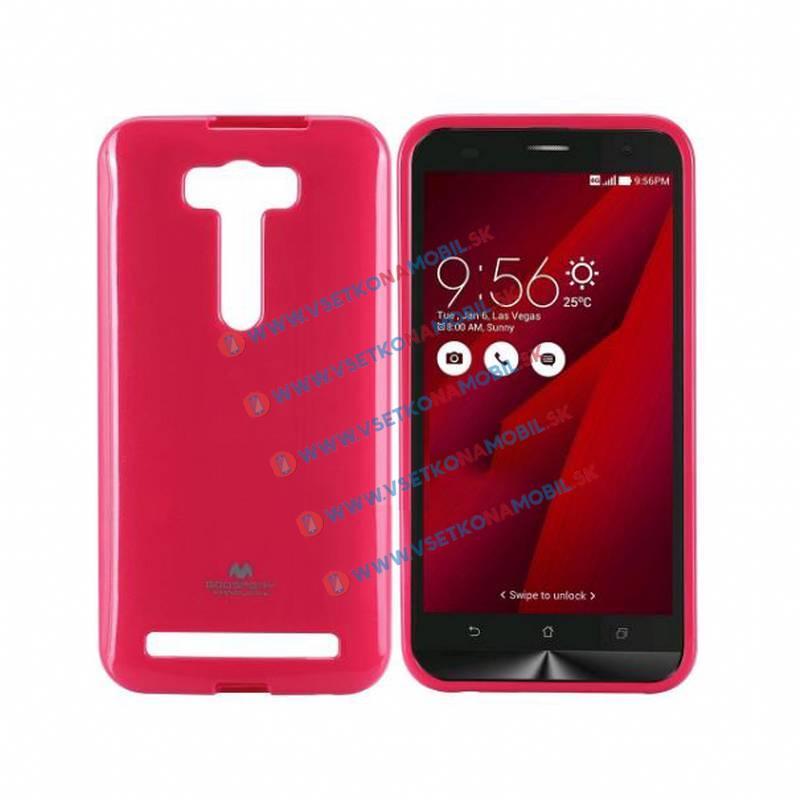 FORCELL Silikónový obal Asus Zenfone 2 Laser ružový