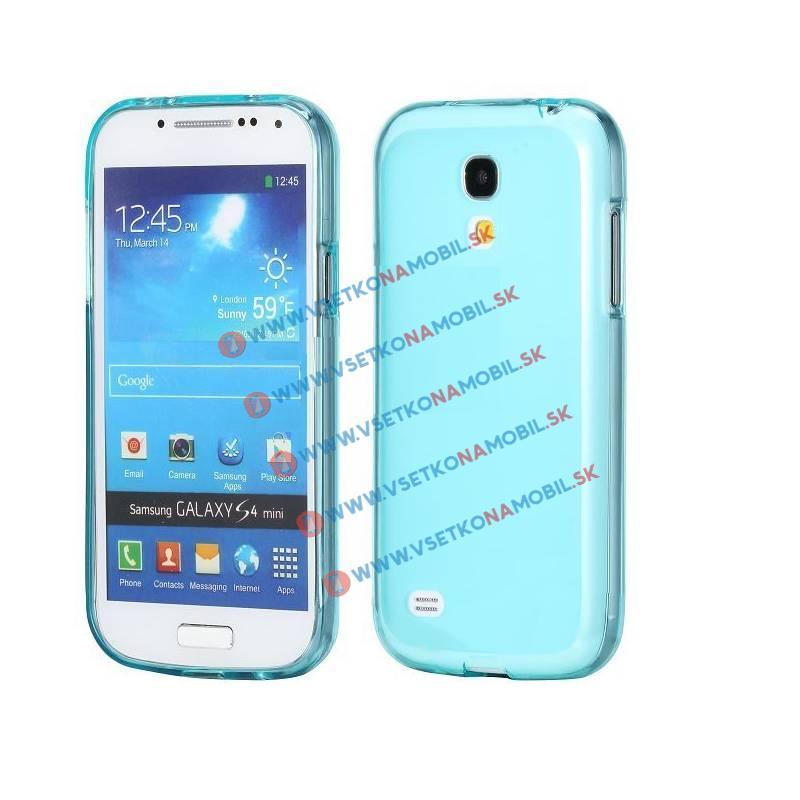 FORCELL Silikónový obal Samsung Galaxy S4 mini modrý