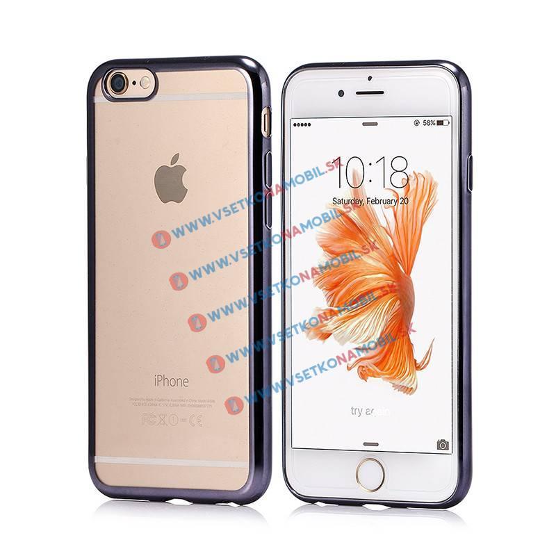 FORCELL Ochranný silikónový (gumený) obal Apple iPhone 6 Plus / 6S Plus