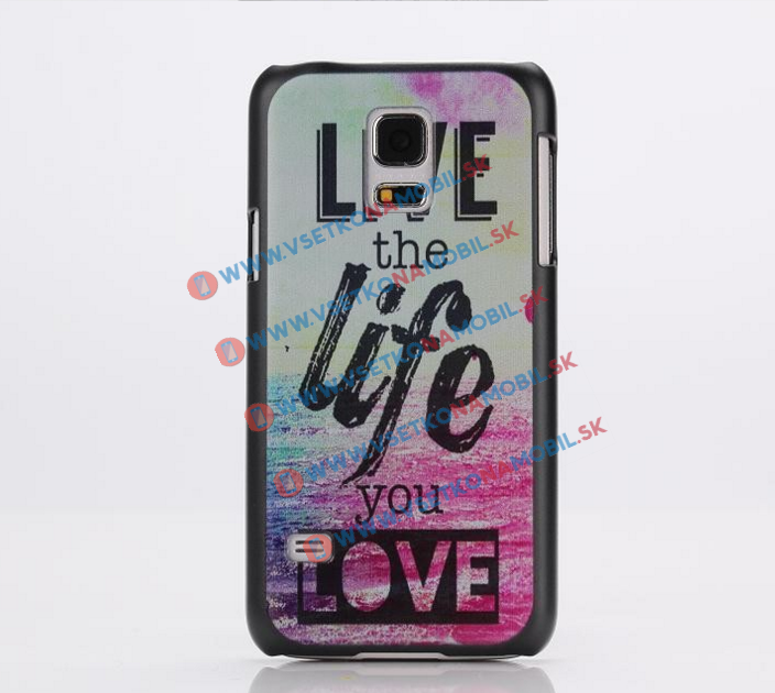 Plastový kryt Samsung Galaxy S5 mini LIFE