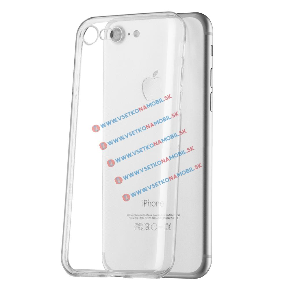 FORCELL Gumený kryt Váš Apple iPhone 7 / iPhone 8 / iPhone SE 2020 priehľadný