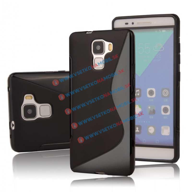FORCELL Silikónový obal Huawei Honor 7 čierny
