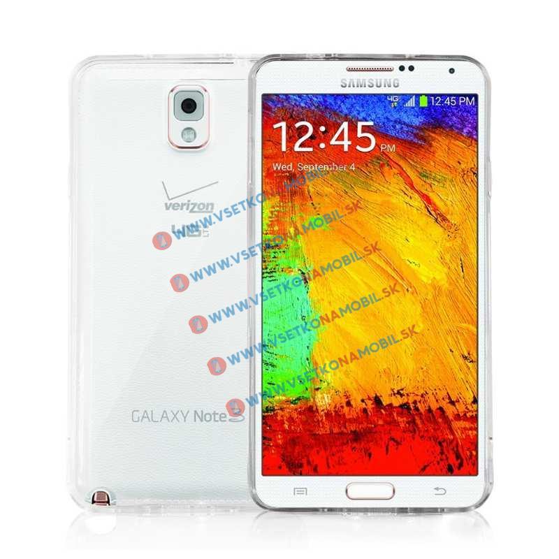 FORCELL Silikónový obal Samsung Galaxy Note 3 číry