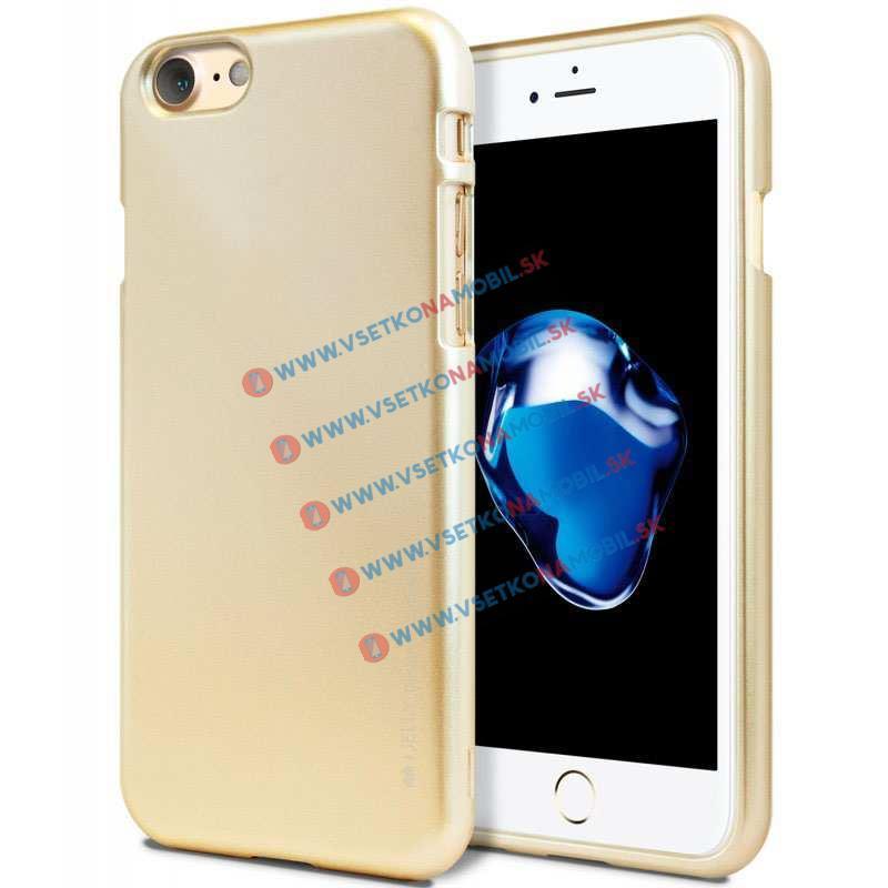 FORCELL Gumený obal pre Apple iPhone 7 zlatý