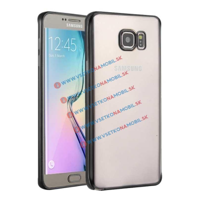 FORCELL METALLIC TPU obal Samsung Galaxy S6 čierny