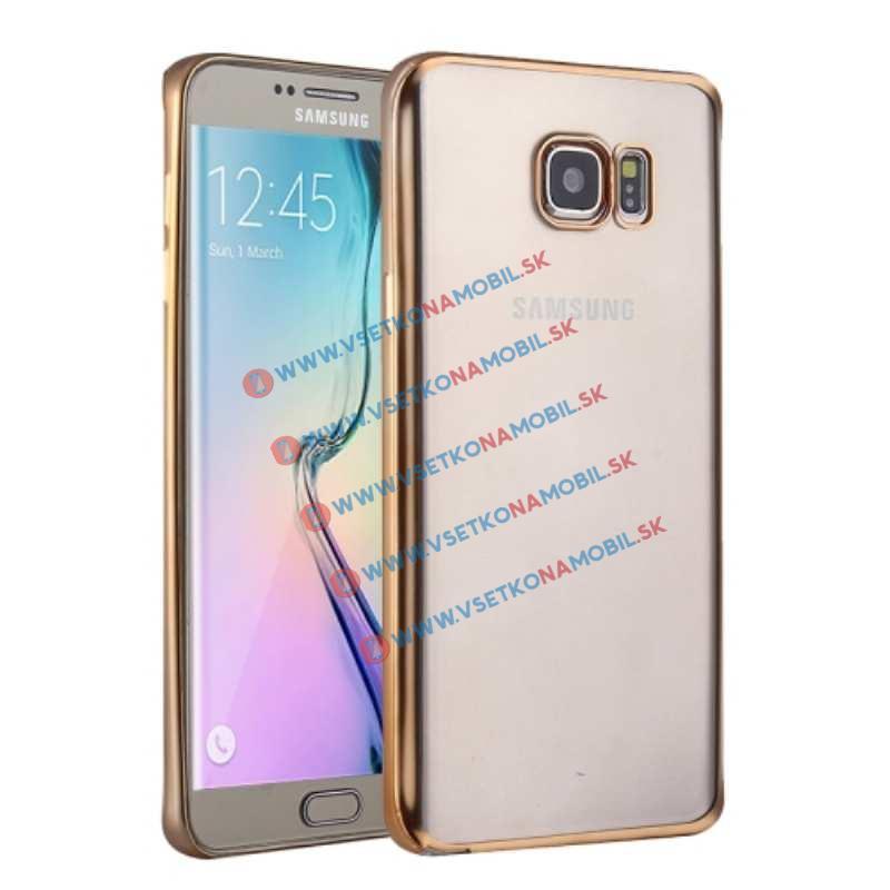 FORCELL METALLIC TPU obal Samsung Galaxy S6 zlatý