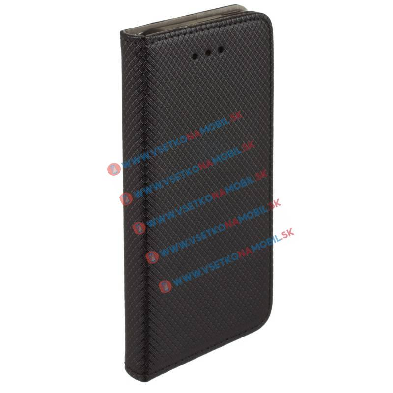 MAGNET Peňaženkové púzdro Apple iPhone 7 Plus čierne