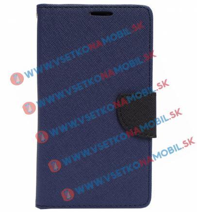 FORCELL Knižkové (peňaženkové) púzdro LG G5 modré (navy)
