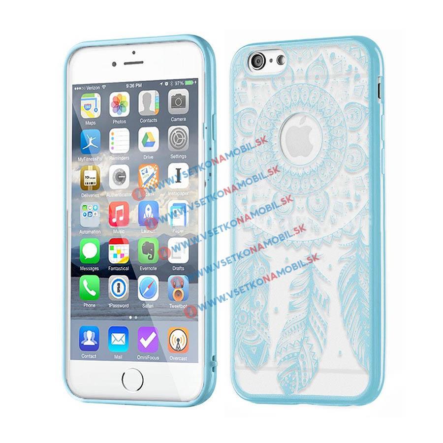 FORCELL HENNA DREAM silikónový obal Apple iPhone 6 / 6S modrý