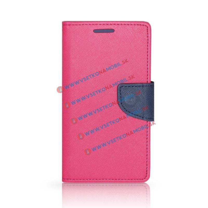 FORCELL FANCY Peňaženkové púzdro Samsung Galaxy Ace 4 LTE ružové