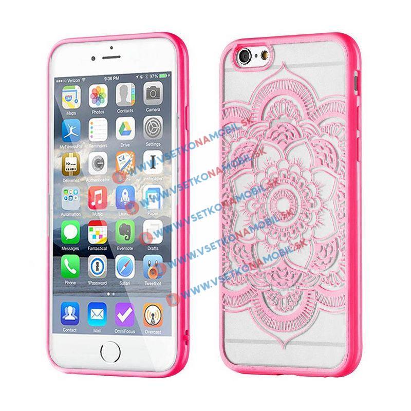 FORCELL HENNA LOTUS silikónový kryt Apple iPhone 6 / 6S ružový