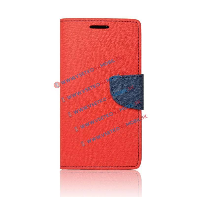 FANCY peňaženkové púzdro Lenovo Vibe C2 červené