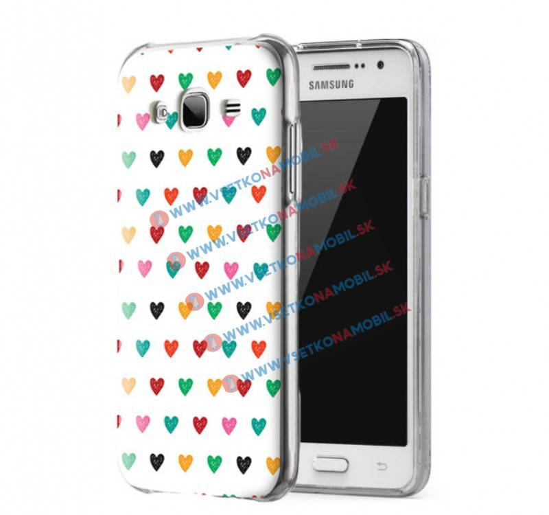 FORCELL ART TPU obal Samsung Galaxy Grand Prime HEARTS 2