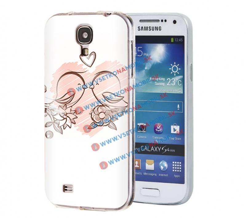 FORCELL ART Silikónový obal Samsung Galaxy S4 BIRDS