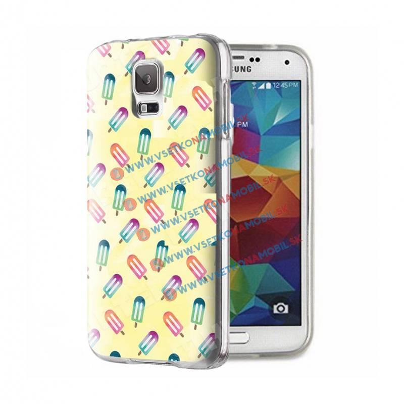 FORCELL ART Silikónový obal Samsung Galaxy S5 ICE