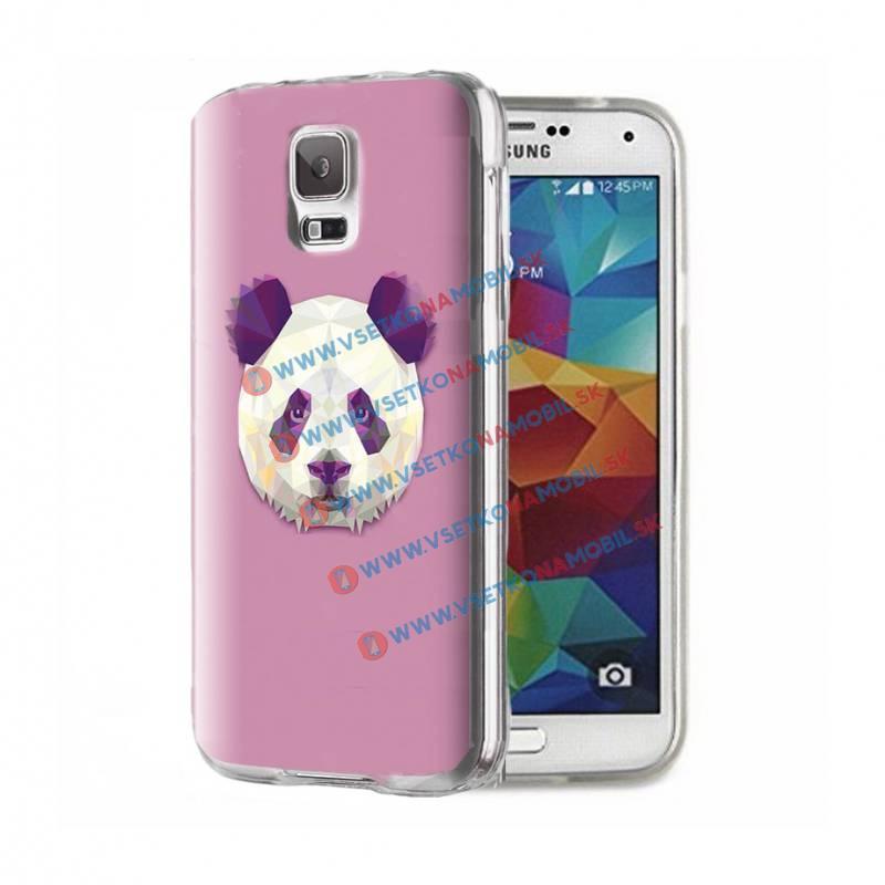 FORCELL ART Silikónový obal Samsung Galaxy S5 PANDA