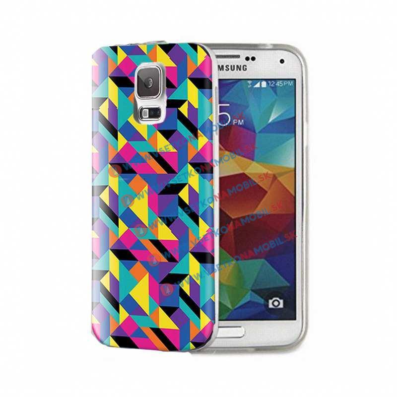FORCELL ART Silikónový obal Samsung Galaxy S5 RAIN