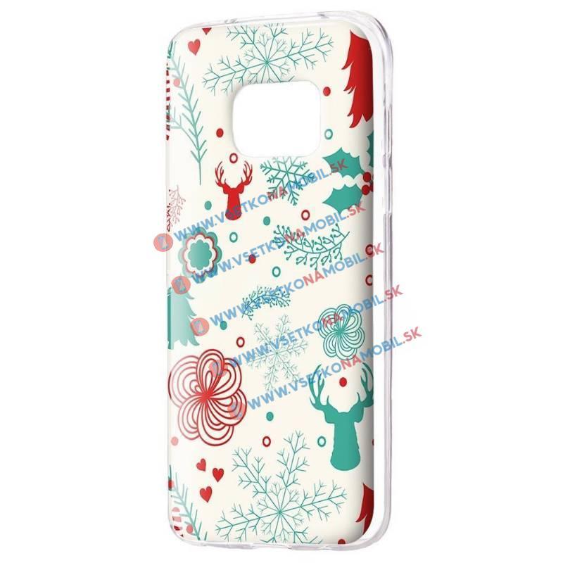 FORCELL ART TPU Obal Samsung Galaxy S7 Edge DEER