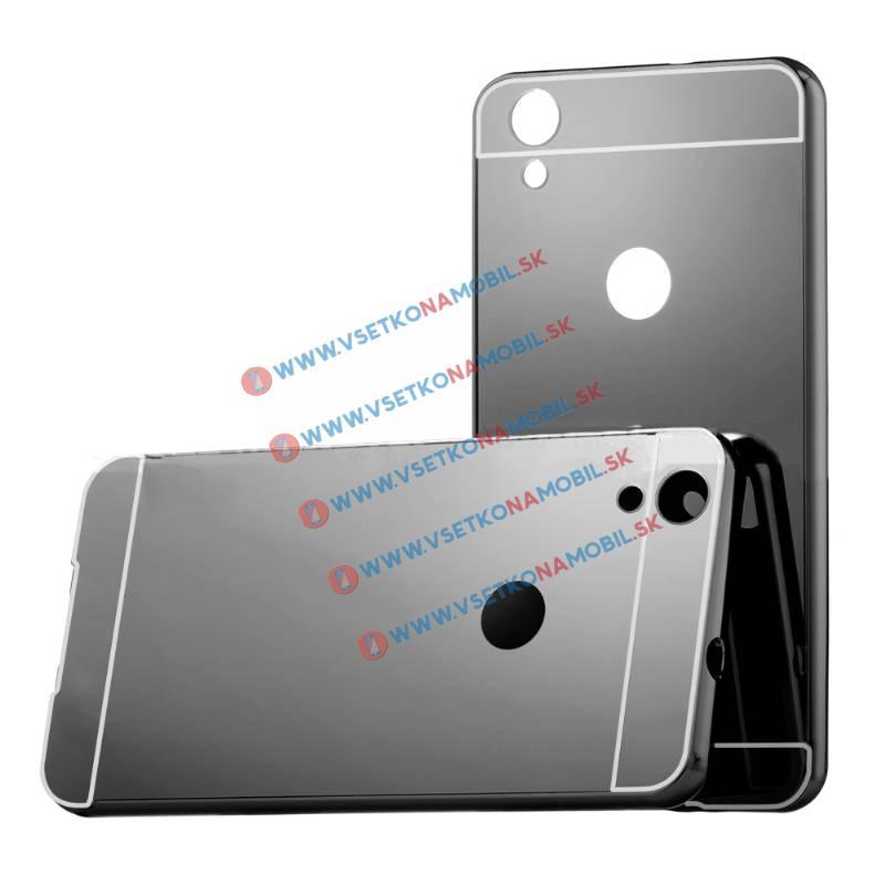 Ochranný zrkadlový obal Huawei Y6 II čierny