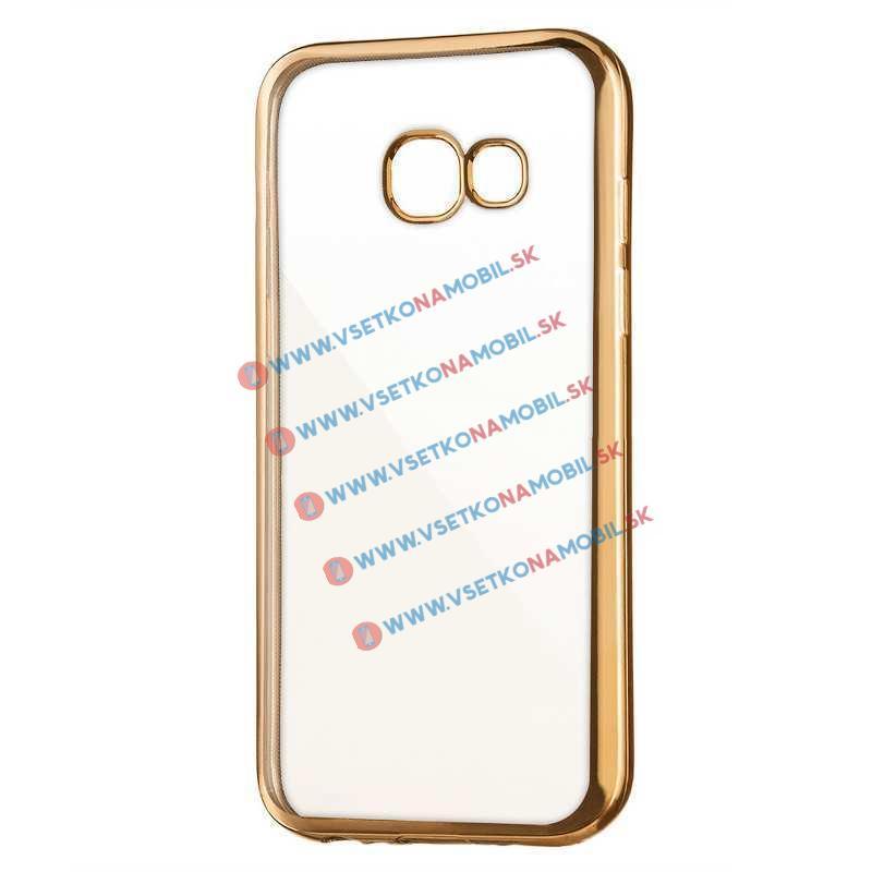 FORCELL METALLIC TPU Kryt Samsung Galaxy A3 2017 (A320) zlatý