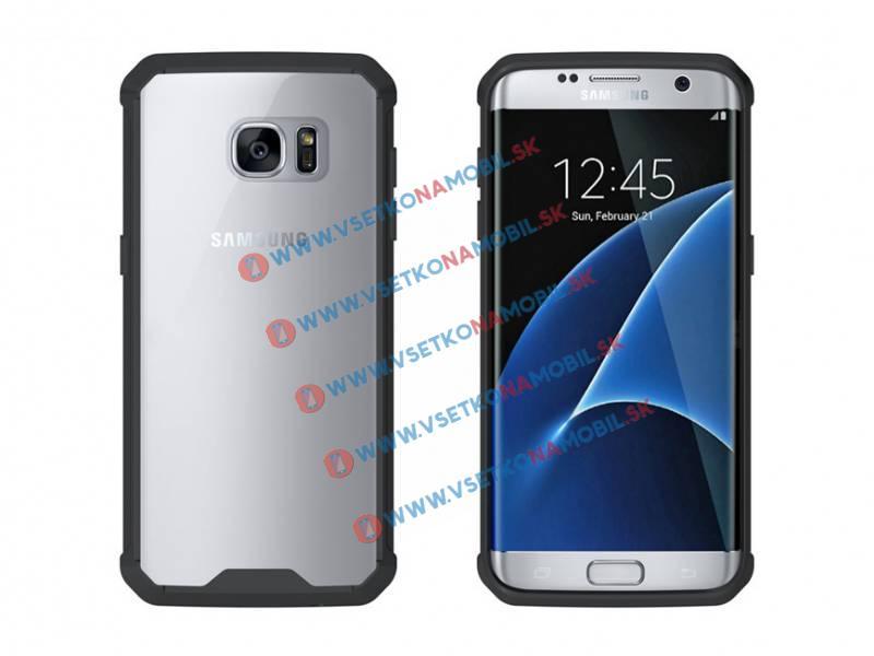 FORCELL SHOCK Ochranný obal Samsung Galaxy S7 Edge čierny