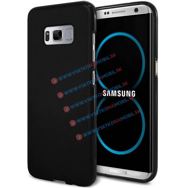 JELLY TPU Obal Samsung Galaxy S8 čierny