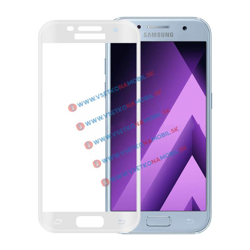 FORCELL 3D Tvrdené sklo Samsung Galaxy A3 2017 (A320) biele