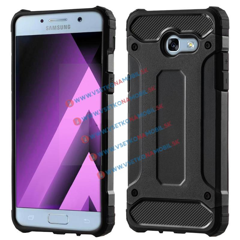 FORCELL TOUGH Ochranný kryt Samsung Galaxy A5 2017 (A520) čierny