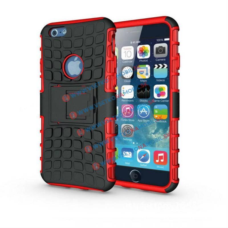 FORCELL STAND Ochranné púzdro Apple iPhone 6 Plus/6S Plus červené