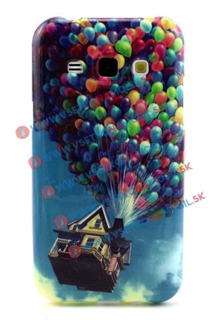 Plastový kryt Samsung Galaxy J1 BALLOONS