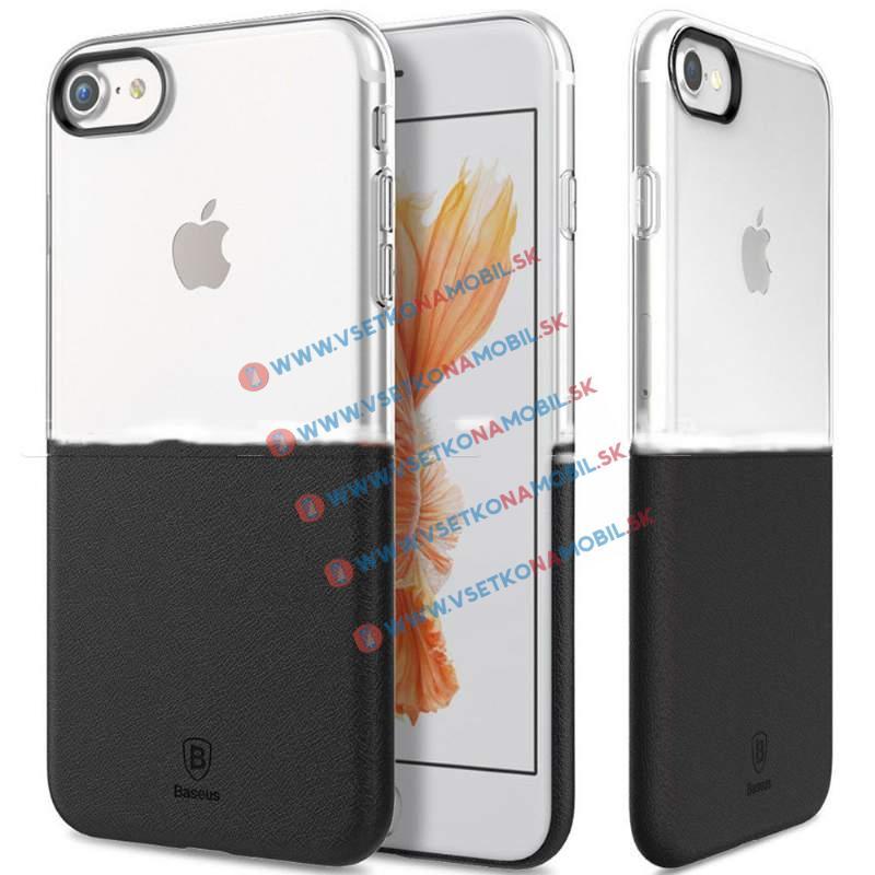 BASEUS HALF Ochranný kryt Apple iPhone 7 Plus čierny