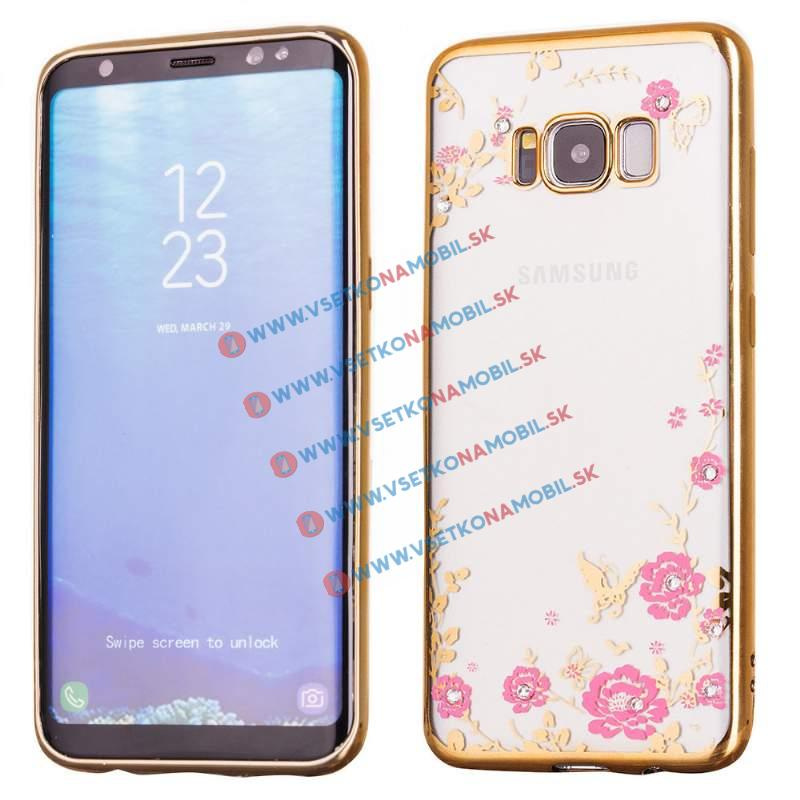 FORCELL BLOOM TPU Samsung Galaxy S8 zlatý