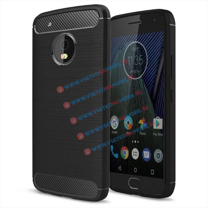 FORCELL FLEXI TPU obal Lenovo Moto G5 Plus čierny