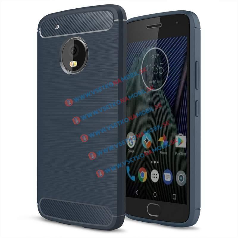 FORCELL FLEXI TPU obal Lenovo Moto G5 Plus modrý