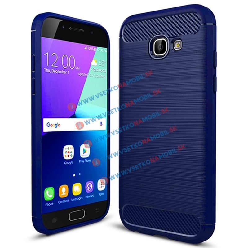FLEXI TPU obal Samsung Galaxy A3 2017 (A320) modrý