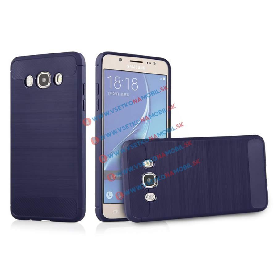 FORCELL FLEXI TPU obal Samsung Galaxy J7 2016 (J710) modrý