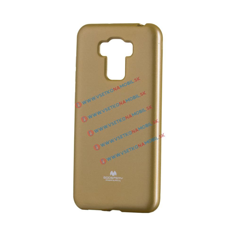 MERCURY JELLY TPU Asus Zenfone 3 Max ZC553KL zlatý